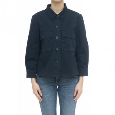 Giubbino - J30203 giacca tela 07 - Navy