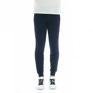 Pantalone donna - F30206 pantalone tuta jogging 07 - Navy