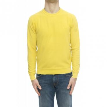 Maglia uomo - K30109 maglia puntoi riso lavata 40 - Lime