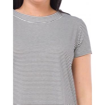 Silvian Heach T Shirt Manica Corta Donna Nero