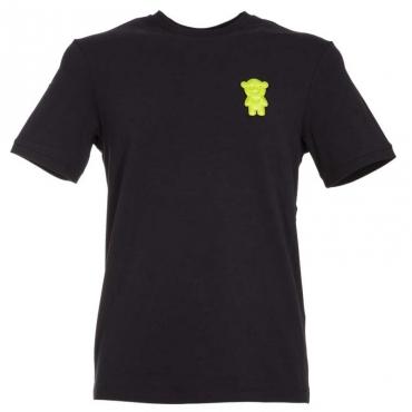 T-Shirt con patch Manga Bear intercambiabile BLU NAVY