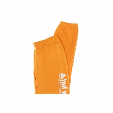 PANTALONE TUTA FELPATO PEAK 30 FLEECE PANT RUSSET ORANGE