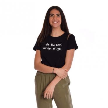 T-shirt stampa NERO