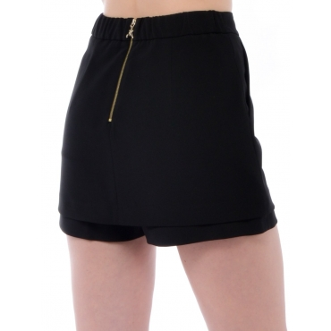 Patrizia Pepe Short Mini Donna Nero