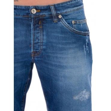 Siviglia Pantalone 5 Tasche Uomo Blu