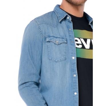 Levis Camicia Uomo Blu
