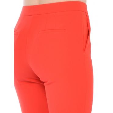 Nenette Pantalone Fashion Donna Rosso