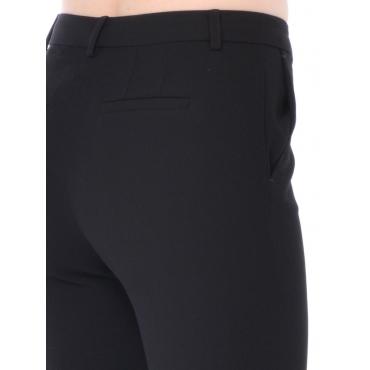 Nenette Pantalone Fashion Donna Nero