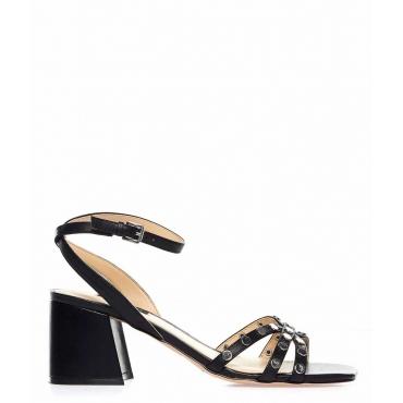 Sandali con tacco Gale nero