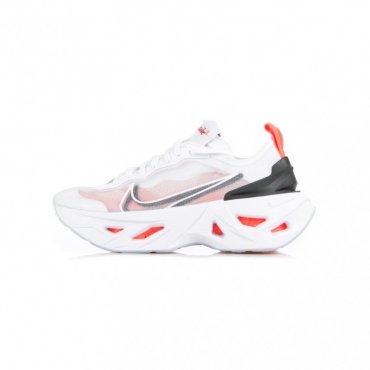 SCARPA BASSA W ZOOM X VISTA GRIND WHITE/BLACK/BRIGHT CRIMSON