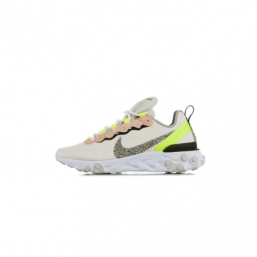 SCARPA BASSA W REACT ELEMENT 55 PRM LIGHT SOFT PINK/ATMOSPHERE GREY/BLACK