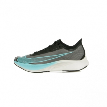 SCARPA BASSA ZOOM FLY 3 BLACK/AURORA GREEN/PHANTOM