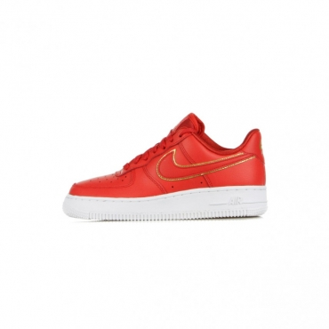 SCARPA BASSA WMNS AIR FORCE 1 07 ESSENTIAL ICON CLASH UNIVERSITY RED/UNIVERSITY RED/WHITE