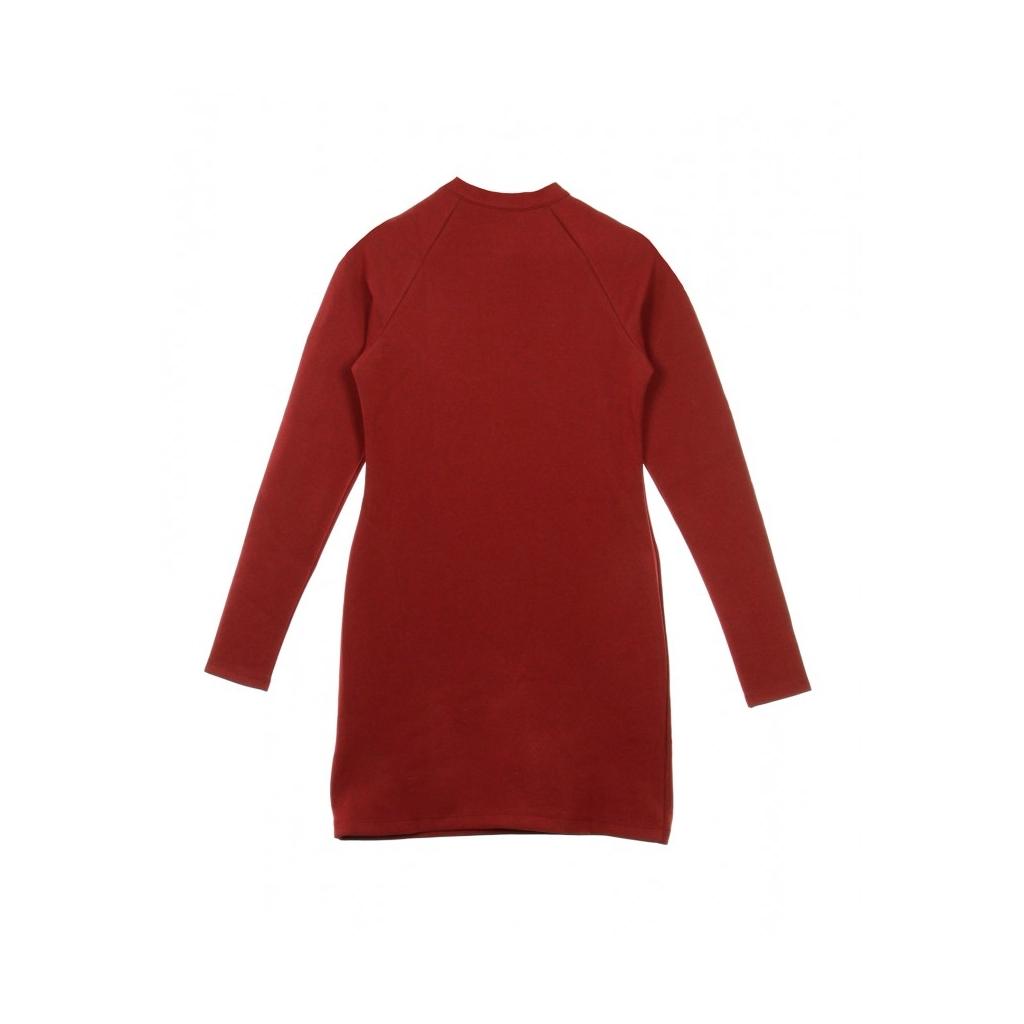 VESTITO DRESS LONG-SLEEVE TEAM RED/BLACK