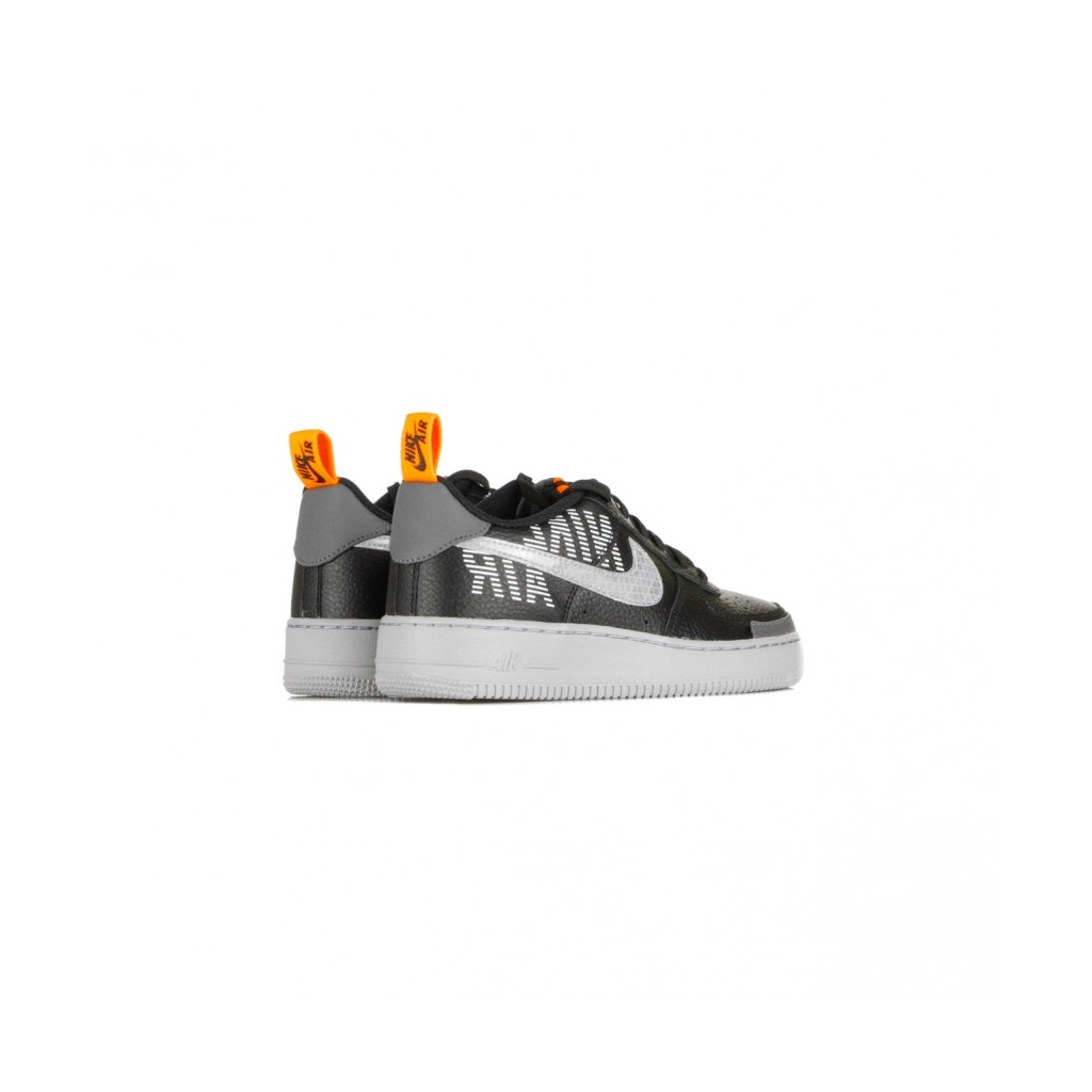 Nike Air Force 1 07 LV8 2 Uomo, Black Wolf Grey Dark Grey