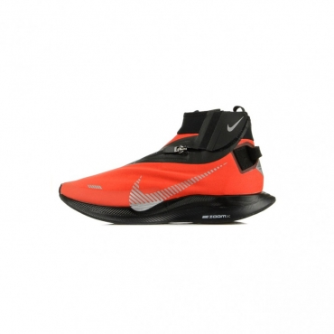 SCARPA BASSA ZOOM PEGASUS TURBO SHIELD HABANERO RED/METALLIC SILVER/BLACK