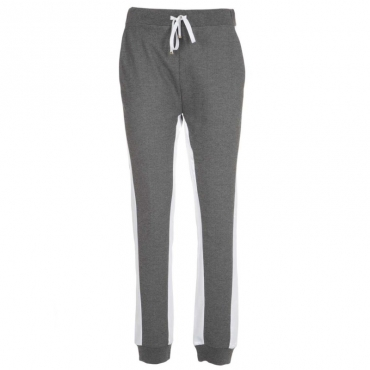Pantalone sportivo con fasce laterali GREYSTONEMEL/BI