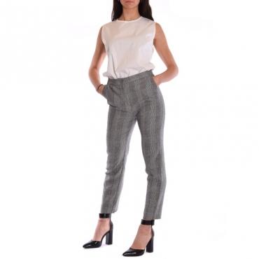 Pantalone new york galles misto lino BEIGE
