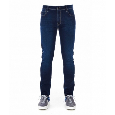 Jeans Leonardo blu scuro