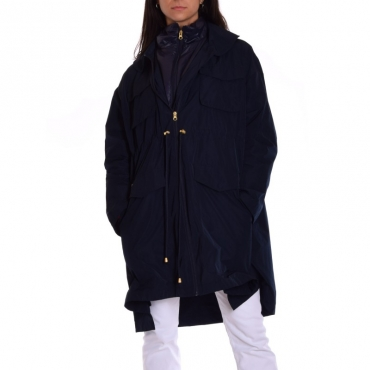 Parka nylon over NAVY