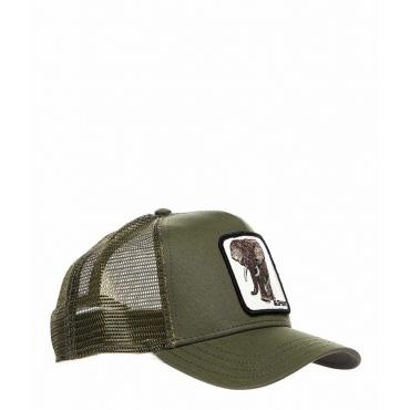 Baseball Cap Elephant oliva
