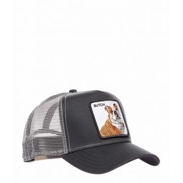 Baseball Cap Butch grigio