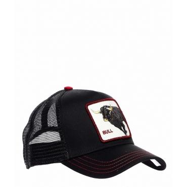 Baseball Cap Bull nero