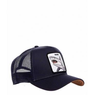 Baseball Cap Shark blu scuro