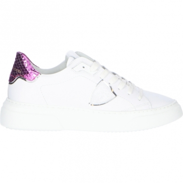 SNEAKERS TEMPLE S PHILIPPE MODEL FUXIA