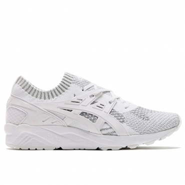 ASICS GEL KAYANO TRAINER KNIT REFLECTIVE ARMOUR - H7S3N 9301 SILVER/WHITE
