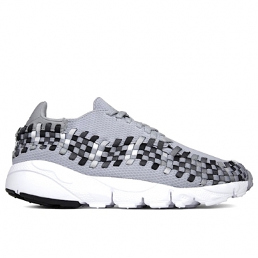 NIKE AIR FOOTSCAPE WOVEN NM - 875797 004 WOLF GREY/BLACK/DARK GREY/WHITE