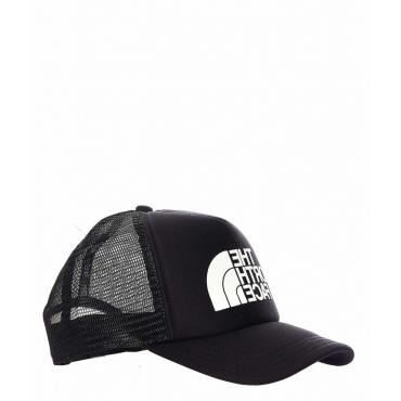 Berretto Baseball con logo nero