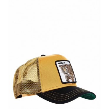 Baseball cap Jaguar giallo