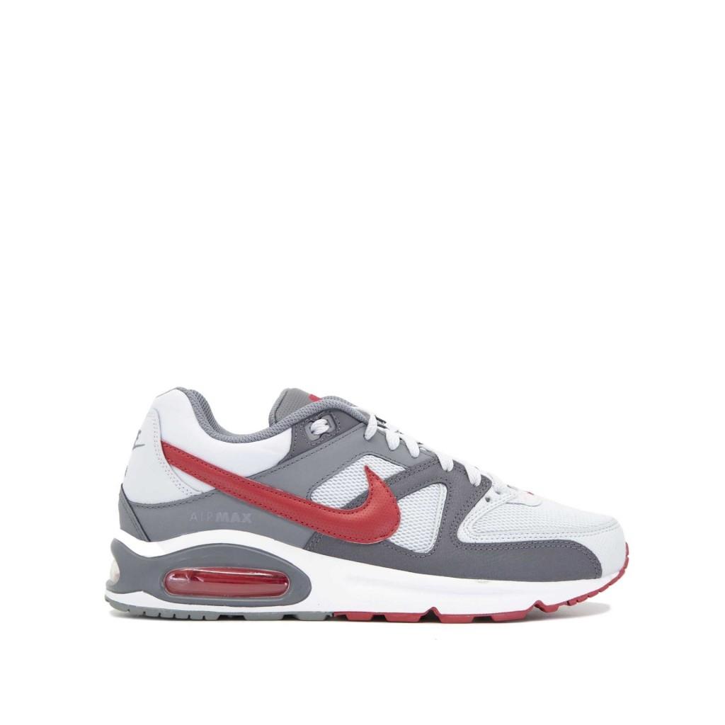 Nike Air Max Command Uomo Platinum Red
