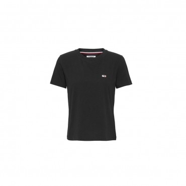 T-shirt Tommy Hilfiger Donna Classic Tee 002 BLACK IRIS