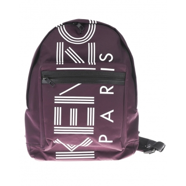 ZAINO LARGE KENZO LOGO BACKPACK BORDEAUX