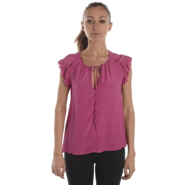 TOP BERTHA FUCSIA