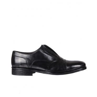 SCARPE SLIP ON FRANCESINA NERO