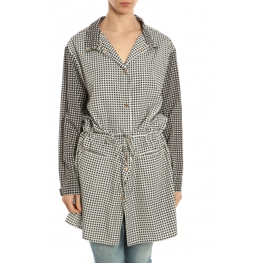 TRENCH CAPPOTTO SAMPLE BIANCO