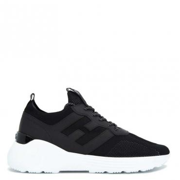 Sneakers Active nera con suola bianca B999NERO