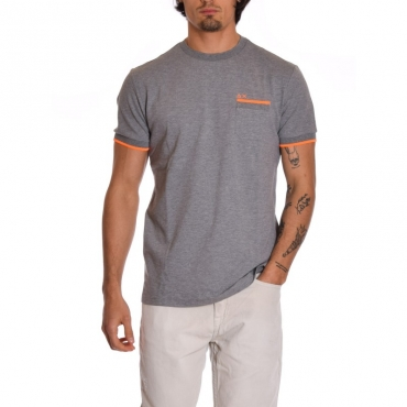 T-shirt profilo GRIGIO