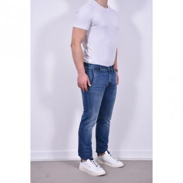 Elias rrs jeans slim elasticizzato fondo 18 DENIM