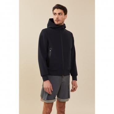 Giacca Roberto Ricci Design Uomo Summer Hood 60 BLUE BLACK