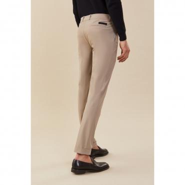 Pantalone Roberto Ricci Design Uomo Chino Stretch 81 BEIGE