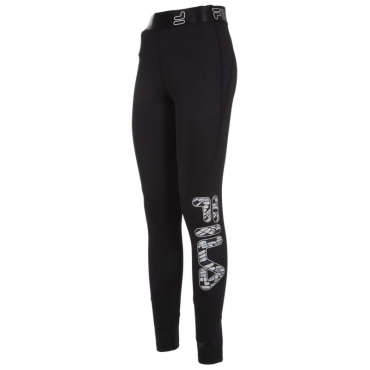 Leggings Fionna con logo 002BLACK