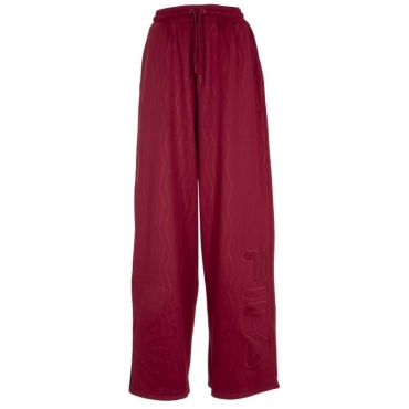 Pantaloni in jersey con logo in rilievo 871BIKINGRED