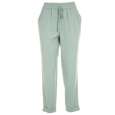 Pantaloni in lyocell con bande glitterate Biem 72233