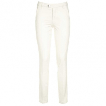 Pantalone slim fit in cotone Wilarel 60725