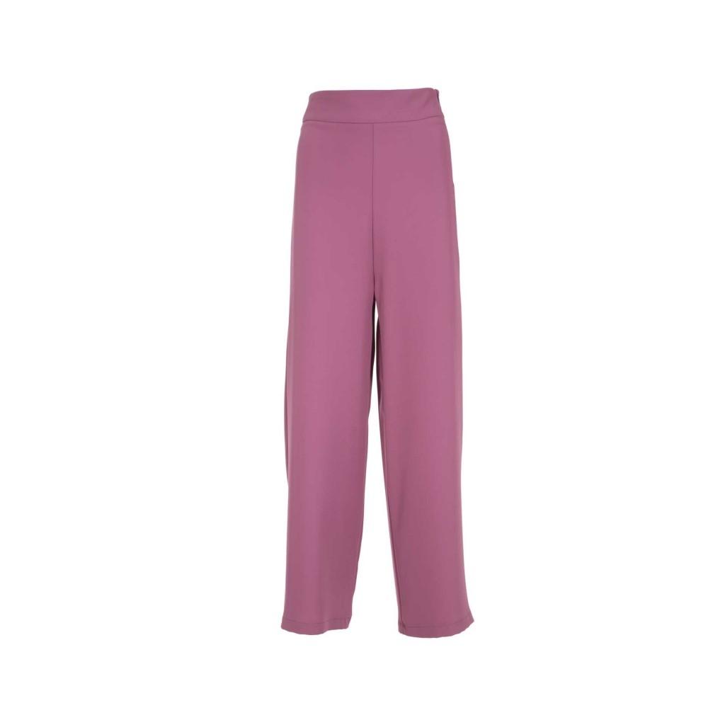 BOTTEGA SARTORI - Pantalone a palazzo rosa CIPOLLA ...
