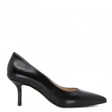 Dcollet Audrey in nappa nera 12222BLACK